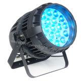 19PCS*15W RGBW Outdoor Waterproof 4in1 LED PAR Zoom