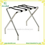 Foldable Strong Metal Luggage Rack with Straps for Hotel