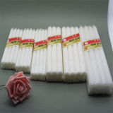 Unscented White Stick Candle for Home Lighting