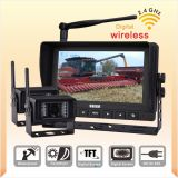 Wireless Observation Camera System for Combine Harvester Agricultural Safety Vision