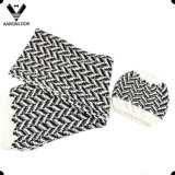 Fashion Herringbone Knitted Pattern Scarf Beanie Warm Set