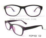 Double Color Cheap Injection Spectacle Frame