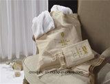 Hot Sale Hotel Cotton Canvas Drawsting Bag Laundry Bag