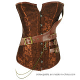 Sexy Gothic Slimming Waist Belt Corset Slimming Leather Body Shaper
