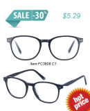 Lady Model in Vintage Style Eyeglass Frame