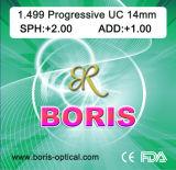 Progressive Cr39 1.499 Short Corridor 14mm UC Optical Lens