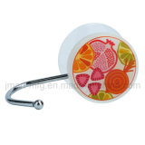 Decorative Suction Hooks with Fresh Fruits Design