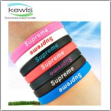 202mm Colored Silicone Silicon Bracelet for Promotional Gift