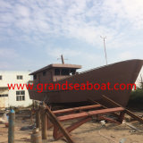 16.5m Steel Material Professional Trawler Commercial Fishing Boat