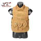 Airsoft Paintball Tactical Combat 1000d Assault Vest Four in One Vest