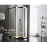Stylish Simple Shower Room Stainless Steel Glass Door Handle (YMD-6304)