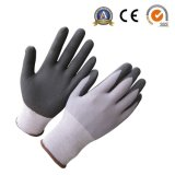 Ultra Thin Micro-Foam Nitrile Work Gloves with 15g Nylon Spandex