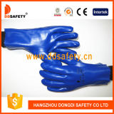 Blue PVC Working Glove Dpv506