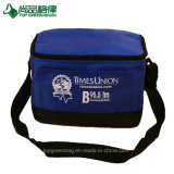 Portable Promotional Insulated Lunch Bags Shoulder 6 Can Cooler Bag