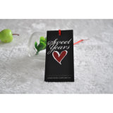 3D UV White Paper Tag for Clothing