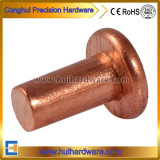 Red Coppr Solid Rivet, Flat Head Copper Rivet M2 M2.5 M3
