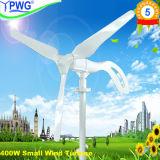 Wind Turbine 400W Green Wind Power & Solar Energy for Streelight or Factory