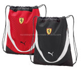 Recycled Polyester Promotion Outdoor Sport Drawstring Backpack Bag for Traveling