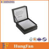 New Design Hinged Paper Packaging Gift Box with Ribbon