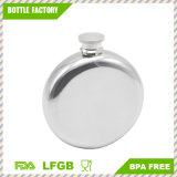 5 Oz Round Wine Pot Camping Flagon Hip Flask Stainless Steel Wine Pot