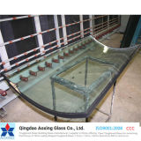 Curved/Sheet Color/Clear Insulated Glass for Glass Door/Glass Curtain Wall