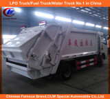 130HP 170HP Dongfeng Compression Garbage Truck