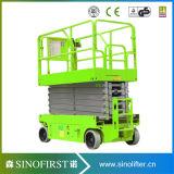 12m Self Propelled Scissor Lift Construction Equipment