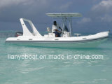 Liya Professional Manufacturer 22feet Commercial Raft Inflatable Boats