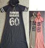2015 Plus Size Summer Loose Women Cotton T- Shirt Dress
