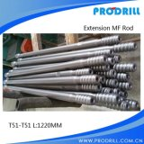 Threaded Rock Drilling Tools Tunnelling Rod Speed Rod