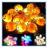 Halloween Decoration Hallowmas Pumpkin and Skull Head Decorative Light Strings