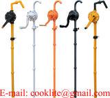 Rotations Handpumpe in Plastic / Handsvingspumpe Med Skovlblade / Plastik Fadpumpe Tromlepumpe
