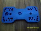 CNC Aluminum Rapid Prototype with Blue Anodized