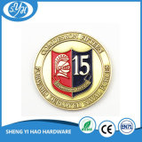 Custom Soft Enamel Challenge Coin for Souvenir Gift