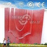 New Design Melamine Faced Molded HDF Door Skin (NMD-0006)