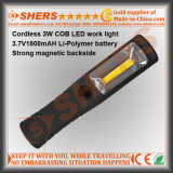 Rechargeable Cordless 3W COB Working Light