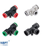 Pneumatic Union Tee Tube Fittings