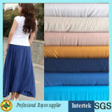 Soft Chemical Rayon Fabric for Women Dress Garments From Factory