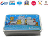 Rectangle Shaped Electric Battery Case Package Tin