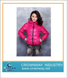 Short Slim Fit Lady′s Goose Down Jacket for Winter