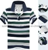 Custom Printed Short Sleeve Men Polo Shirts (ELTMPJ-164)