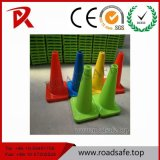 Roadsafe PVC Barricade Cone Barrier Orange Reflective Traffic Cone with Reflective Tape