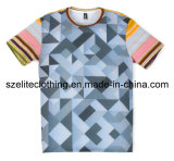 Wholesale Cheap Custom Sublimated Polyester T-Shirts (ELTMTJ-174)