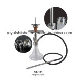 Top Quality Hookah with Stainless Steel Click and Handle Shisha Hookah