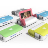 Portable USB 4400mAh Power Bank with Mirror and Holder