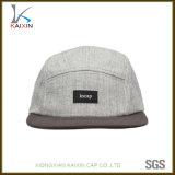 Custom Wool Acrylic Label Patch 5 Panel Hat