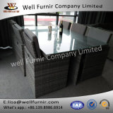 Well Furnir 6 Seater Dining Set with Cushion WF-7595