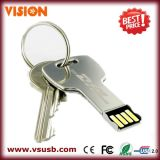 Bulk Customized Metal Mini Key Shape USB Flash Memory 2GB / 4GB / 8GB (VS-UDP01B)