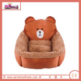 Cartoon Bear Pet Bed for Dogs