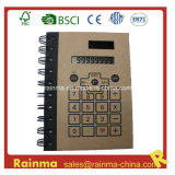 Notebook with Calculator and Pen